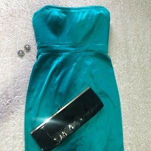 Jessica Simpson Teal Cocktail Dress